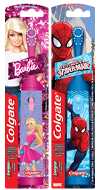 Colgate<sup>®</sup> Barbie<sup>™</sup>/Spiderman<sup>™</sup> Power Toothbrush