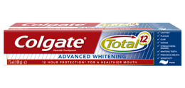 Colgate<sup>®</sup> Total<sup>®</sup> Advanced Whitening